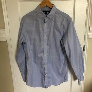 Banana Republic Men's Non-Iron Slim Fit Shirt Med
